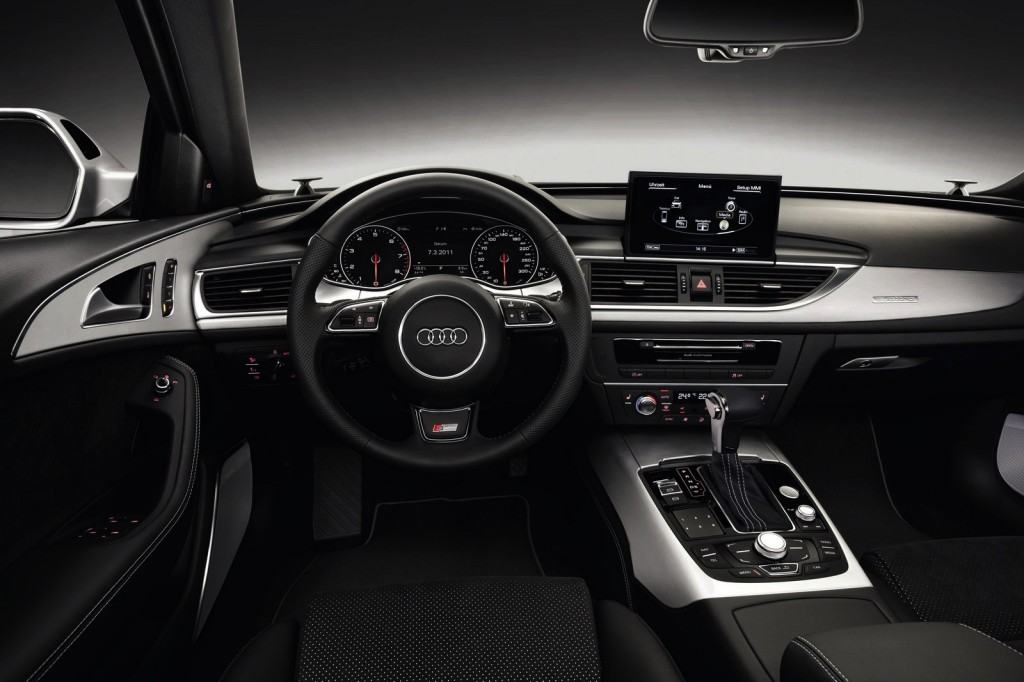 Audi A6: 43 buttons: dials or switches